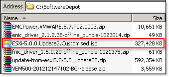 Create custom ISO VMware vSphere ESXi Image Builder - 1