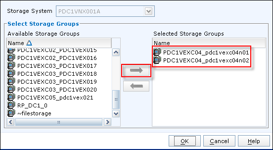 Add a LUN to Storage Group in EMC VNX Unisphere - 2