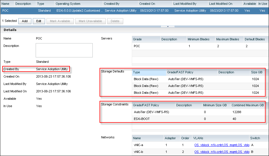 EMC UIM-P Service Adoption Utility - Service Offering - 1