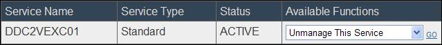 EMC UIM-P Service Adoption Utility - Unmanage Service