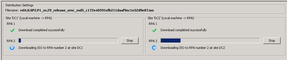 RecoverPoint - Downloading ISO to RPA
