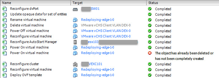 Upgrade vCNS - Upgrade vShield Edge - 4