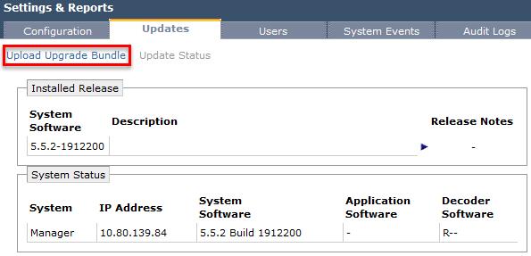 Upgrade vCNS - Upgrade vShield Manager - 1