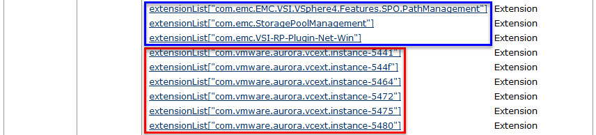 Remove unwanted plug-ins from VMware vCenter Server - 4