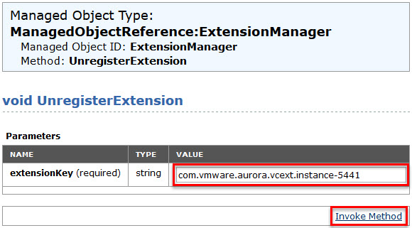 Remove unwanted plug-ins from VMware vCenter Server - 6