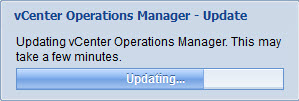 Upgrade vCenter Operations Manager - 5