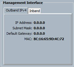 Cisco UCS CIMC Management Interface MAC