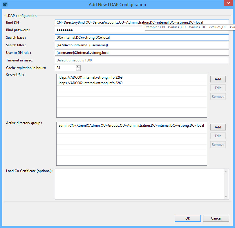 HOW TO: Configure EMC XtremIO LDAP/AD Users Authentication