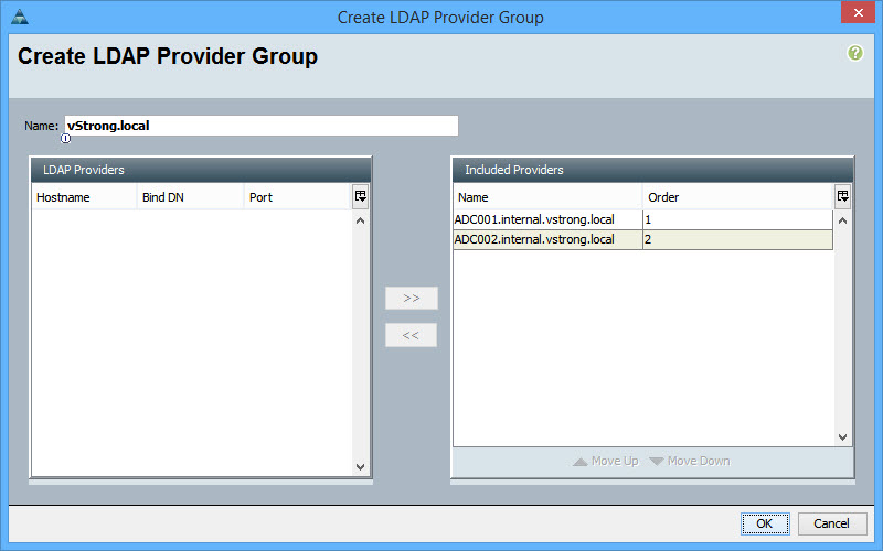 UCS_Manager_LDAP_configuration_Create_LDAP_Provider_Group