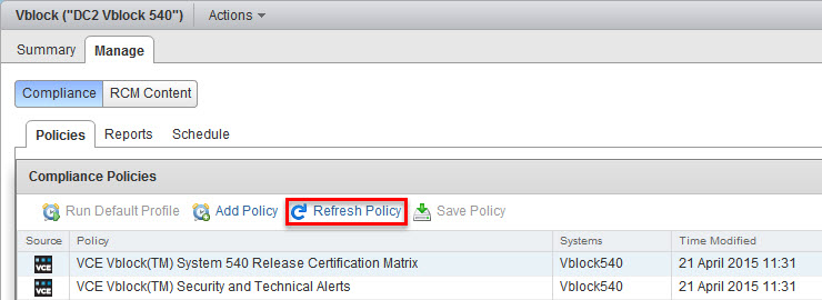 VCE_Vision_Compliance_Policies