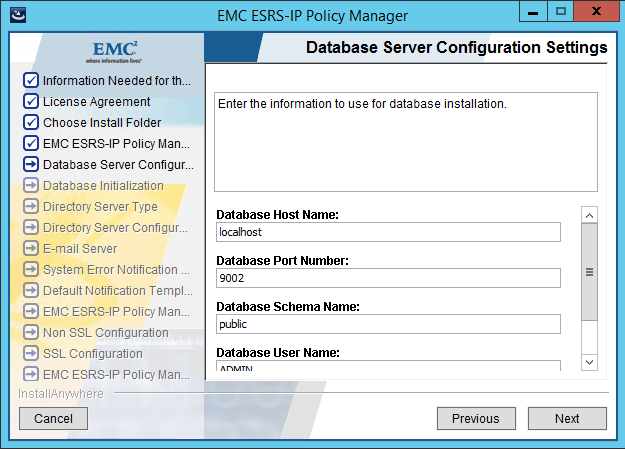 EMC Secure Remote Services (ESRS) Policy Manager 6 6