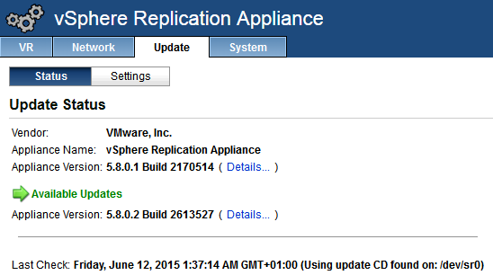 Upgrade_vSphere_Replication_01