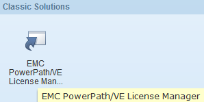 EMC PowerPath Virtual Appliance Version 2.0 SP1 - vCenter Plugin - icon